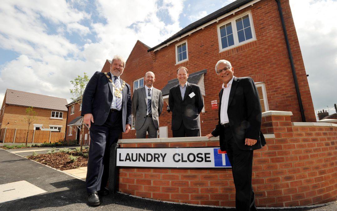 Civic Society Award for Laundry Close