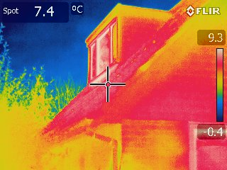 Reducing the carbon footprint of an existing house